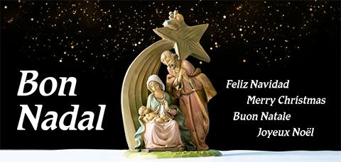 Felicitació per Nadal 2020 de l'IRSJG i la Clínica Salus Infirmorum