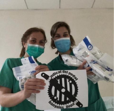 Donació de 100 mascaretes FFP2