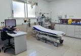 Un dels tres boxes de la nova àrea d'urgències de la Clínica Salus Infirmorum