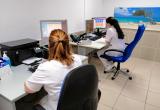 Espacio de trabajo para el personal en las nuevas urgencias de la Clínica Salus Infirmorum