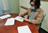 15-05 - Signatura de l'acord amb Dr. August Corominas