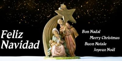 Felicitación de Navidad del IRSJG y la Clínica Salus Infirmorum
