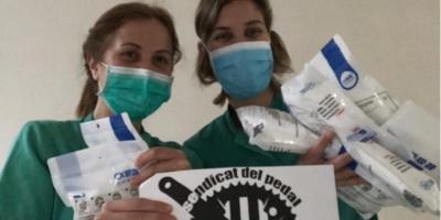 Donación de 100 mascarillas FFP2