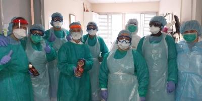 Donación de Chocolates Torras a los sanitarios